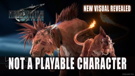 Final Fantasy VII Remake Red XIII is Not A Playable Character Plus New Visual Revealed
