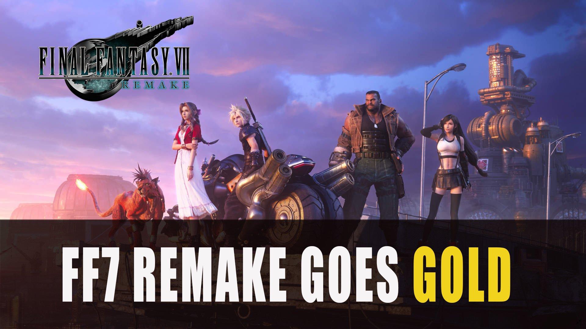 Final Fantasy Vii Remake Goes Gold Fextralife