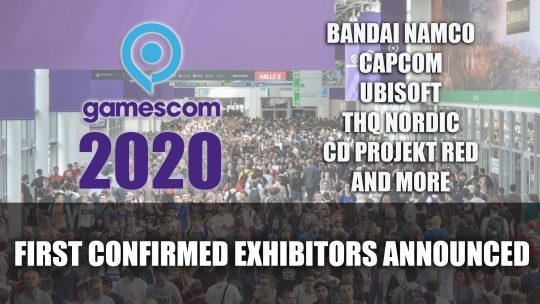 Gamescom 2020 First Confirmed Exhibitors Announced