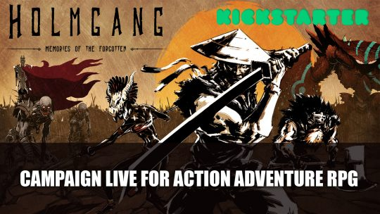 Kickstarter Campaign Launches for 3D action adventure RPG Holmgang: Memories of the Forgotten