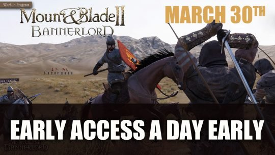 Mount & Blade II: Bannerlord Early Access Launches One Day Early