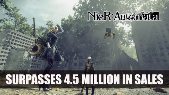NieR: Automata Surpasses 4.5 Million in Sales Since Release