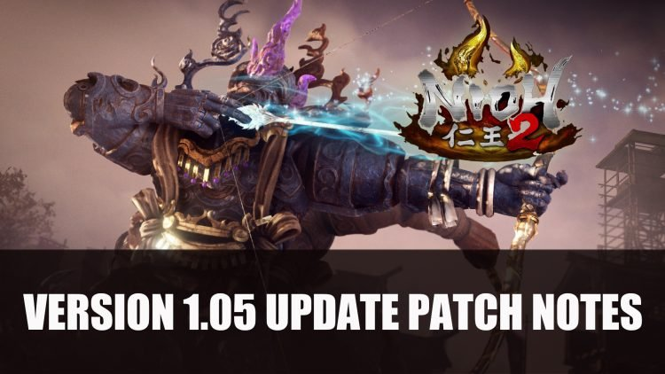 Nioh 2 Version 1.05 Update Now Available