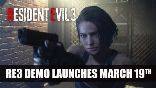 Resident Evil 3 Demo Launches This Week Plus Open Beta Test Starts March 27th