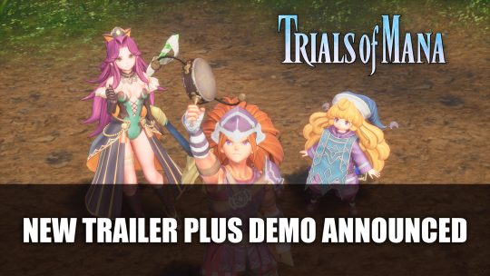 Trials of Mana Demo Launches March 18th