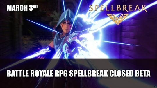 Spellbreak PS4 Closed Beta Starts March 3rd