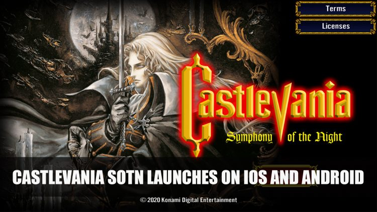 Castlevania: Symphony of the Night Launches on iOS and Android