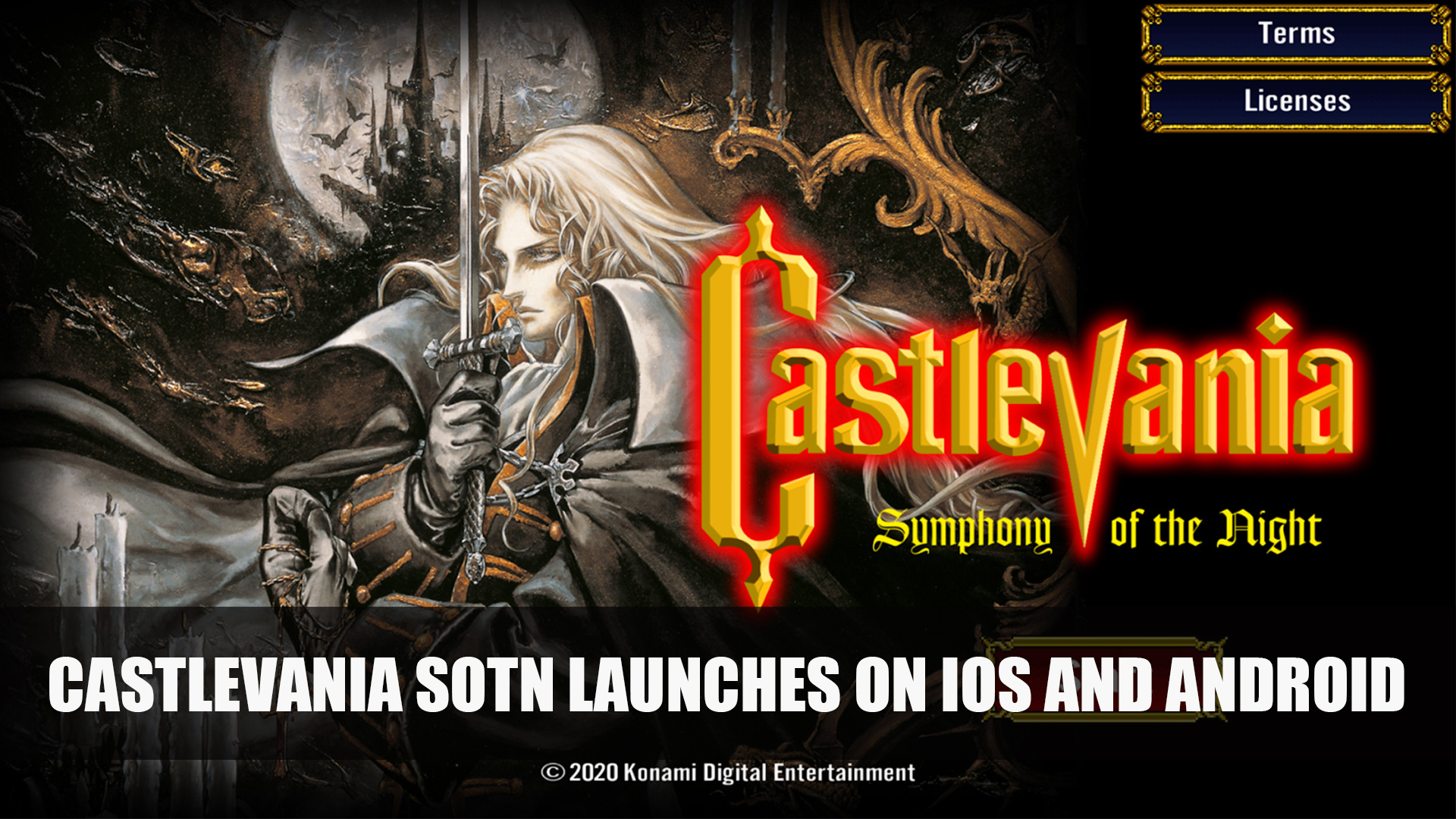 Castlevania Symphony Of The Night Launches On Ios And Android