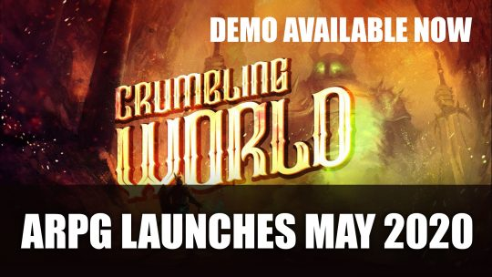 Crumbling World an ARPG Launches Next Month; Demo Available Now