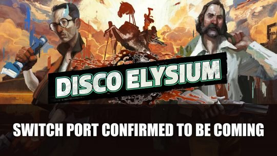 Disco Elysium Confirmed to be Coming to the Nintendo Switch