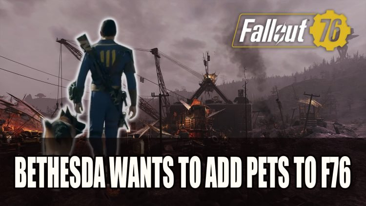 Bethesda Wants to Add Pets to Fallout 76