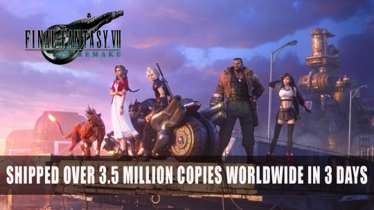Final Fantasy 7 Remake Shipped Over 3.5 Million Copies Worldwide in 3 days