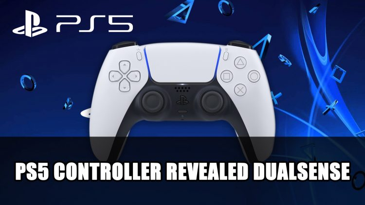 PS5 Controller Revealed Called DualSense