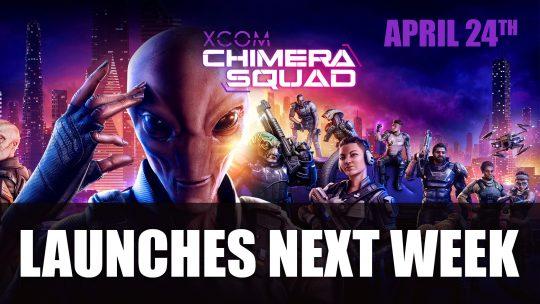 XCOM: Chimera Squad Gets Surprise Release Date of Next Week