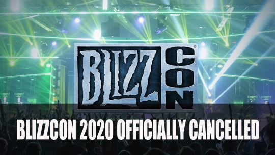 Blizzcon 2020 Officially Cancelled, Virtual Event Most Likely Early 2021