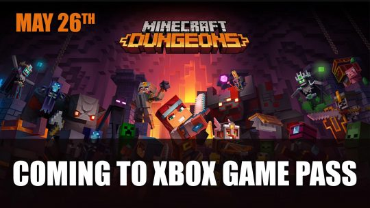 Minecraft Dungeons Coming to Xbox Game Pass This Month