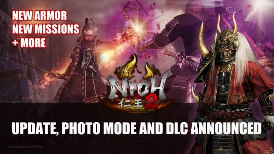 Nioh 2 Adds Photo Mode & New Missions Plus New DLC Details