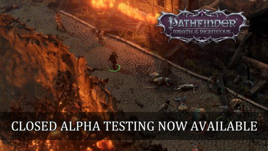 Pathfinder: Wrath of the Righteous Closed Alpha Testing Now Available