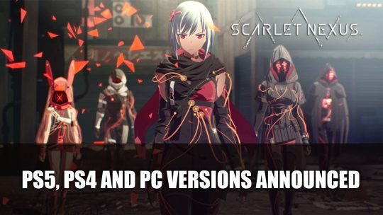 Scarlet Nexus Adds PS5, PS4 and PC Versions