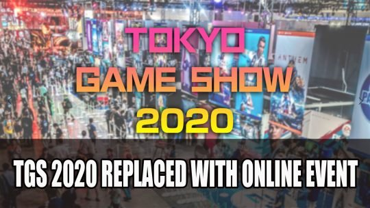 Tokyo Game Show 2020 Replaced with Online Event