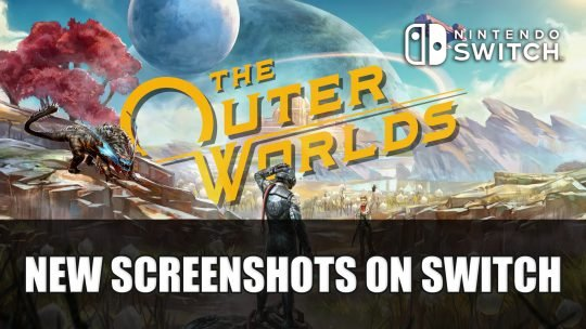 The Outer Worlds Gets New Screenshots on Switch