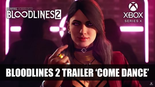 Vampire The Masquerade: Bloodlines 2 Coming to Xbox Series X