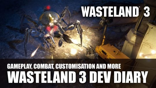 Wasteland 3 Dev Diary Features Character Creation, Combat and More