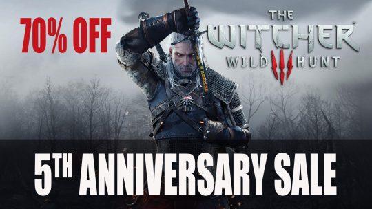 Witcher 3 Devs Celebrate 5th Anniversary with Massive Sale