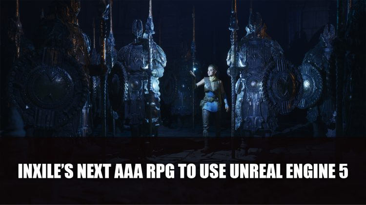 inXile Entertainment Next AAA RPG Will Use Unreal Engine 5