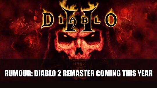 Rumour: Diablo 2 Remaster In Development