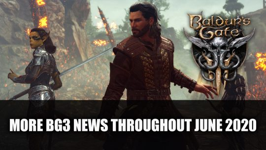 Baldur's Gate 3 Dev Teases More News Throughout June