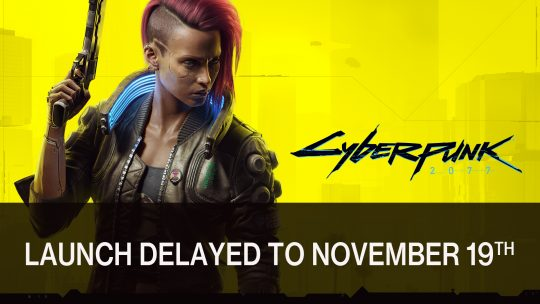Cyberpunk 2077 Delayed to November