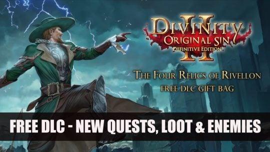 Divinity: Original Sin 2 New DLC The Four Relics of Rivellon