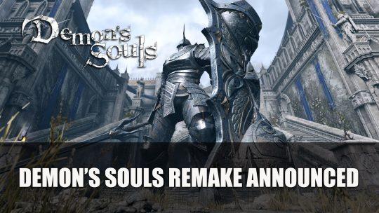 Demon's Souls Remake Announced