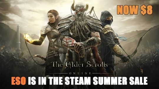 Elder Scrolls Online is Now 60% Off on Steam
