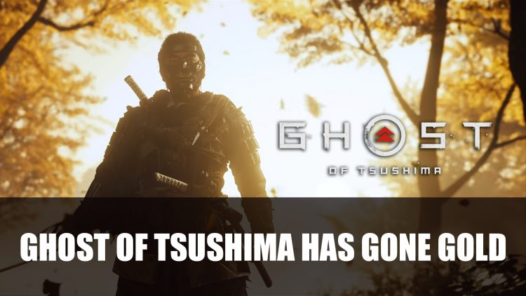 Ghost of Tsushima Has Gone Gold