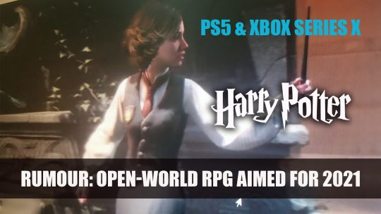 Harry Potter Open-World RPG by Avalanche Software Aimed for PS5 and Xbox Series X in 2021