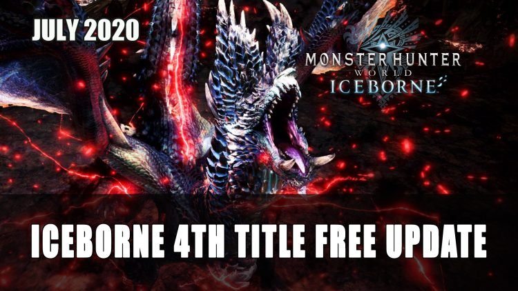 Monster Hunter World: Iceborne Free Title Update 4 Releases July