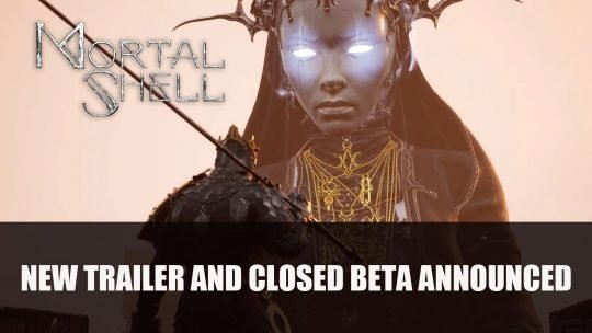 Mortal Shell Debuts Gameplay Footage Plus Closed Beta PC This July