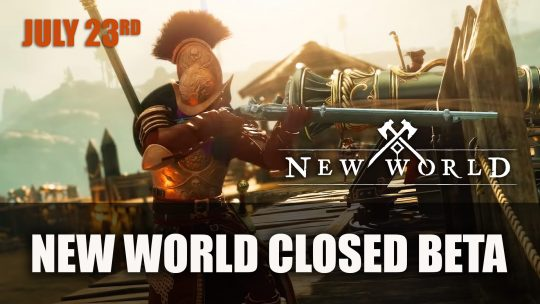 Amazon Announces New World Closed Beta Launches July 23rd