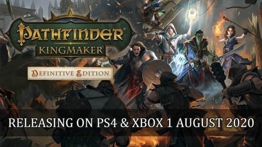 Pathfinder: Kingmaker Announced for PS4 and Xbox One