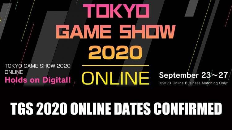 Tokyo Game Show 2020 Online Event Starts September 23rd