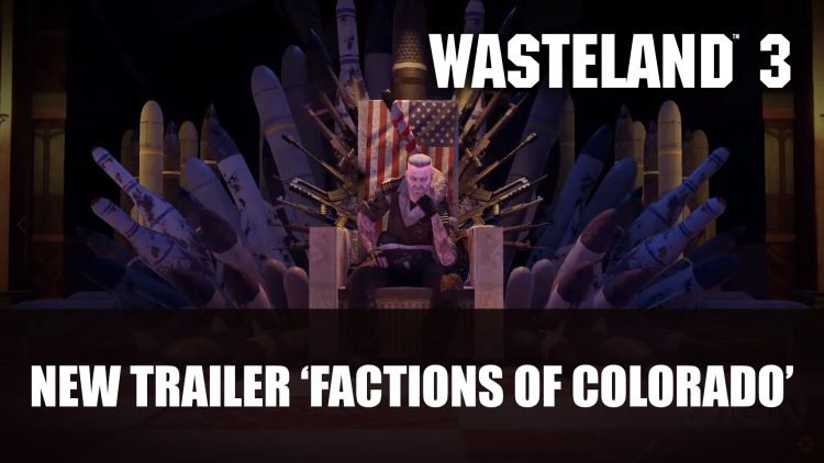 Wasteland 3 New Trailer Factions of Colorado