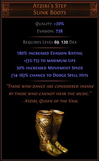 Infernal Cold Assassin With Maximum Dodge Path Of Exile Build Harvest League Fextralife Check out our unique boots selection for the very best in unique or custom, handmade pieces from our shoes shops. path of exile build harvest league