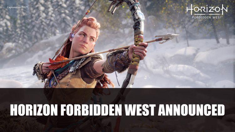 Horizon: Forbidden West Announced