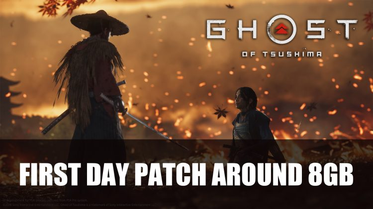 Ghost of Tsushima Day Update Will Be About 8GB