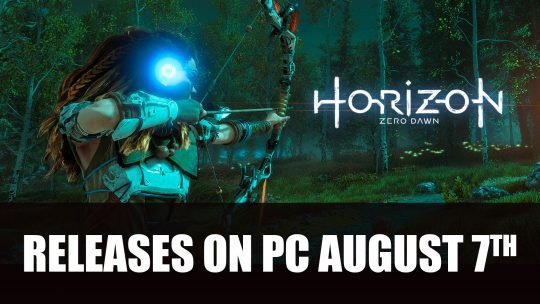 Horizon Zero Dawn Comes to PC in August