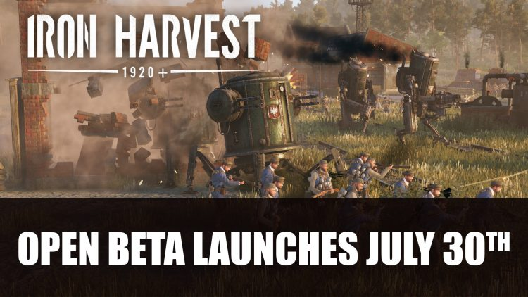 Iron Harvest Pre-Season Open Beta Launches July 30th