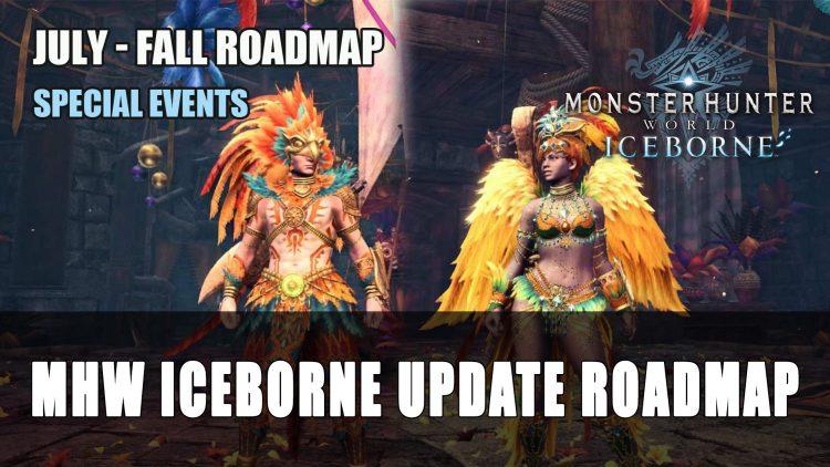 Monster Hunter World Iceborne Update July to Fall 2020 Roadmap Unveiled
