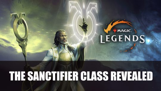 Magic Legends Reveals Sanctifier Class